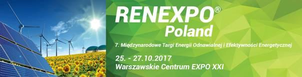 7. Międzynarodowe Targi Energii Odnawialnej i Efektywności Energetycznej RENEXPO