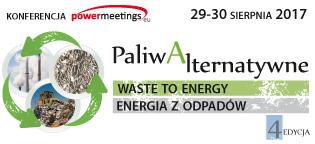 """Konferencja """"Paliwa Alternatywne – Waste to Energy – Energia z Odpadów"""""""