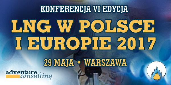 "Konferencja ""LNG w Polsce i Europie 2017"" pod patronatem BiznesAlert.pl"
