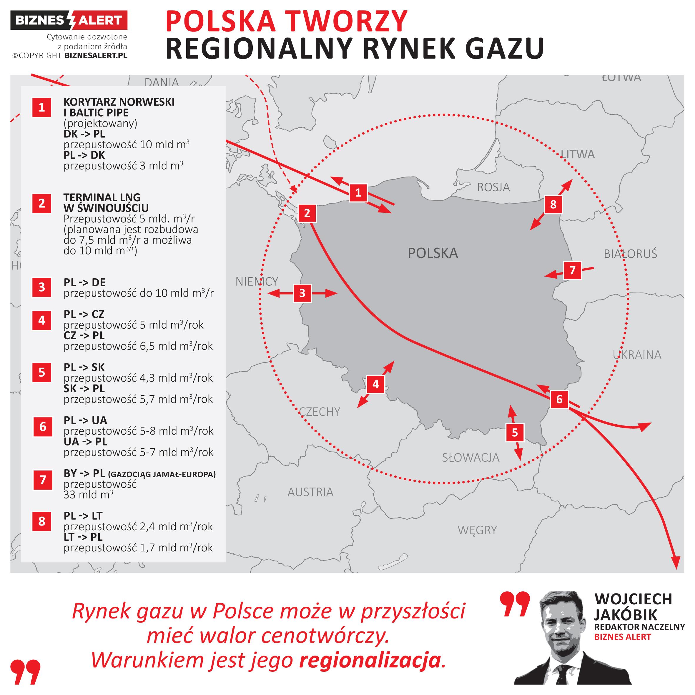Regionalny rynek gazu. Gazowy Hub Polska? Fot. BiznesAlert.pl