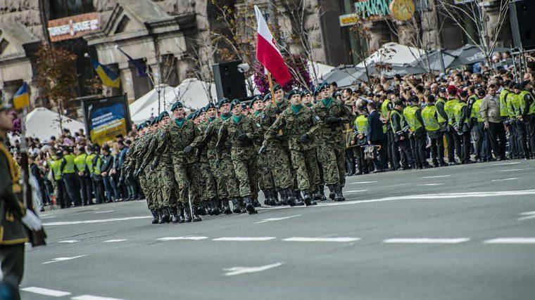 Defilada wojskowa w Kijowie