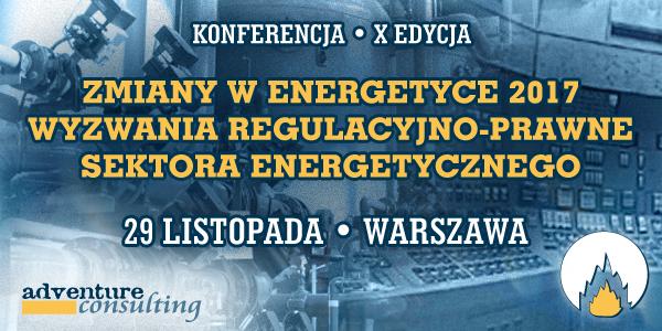 Zmiany w energetyce 2017