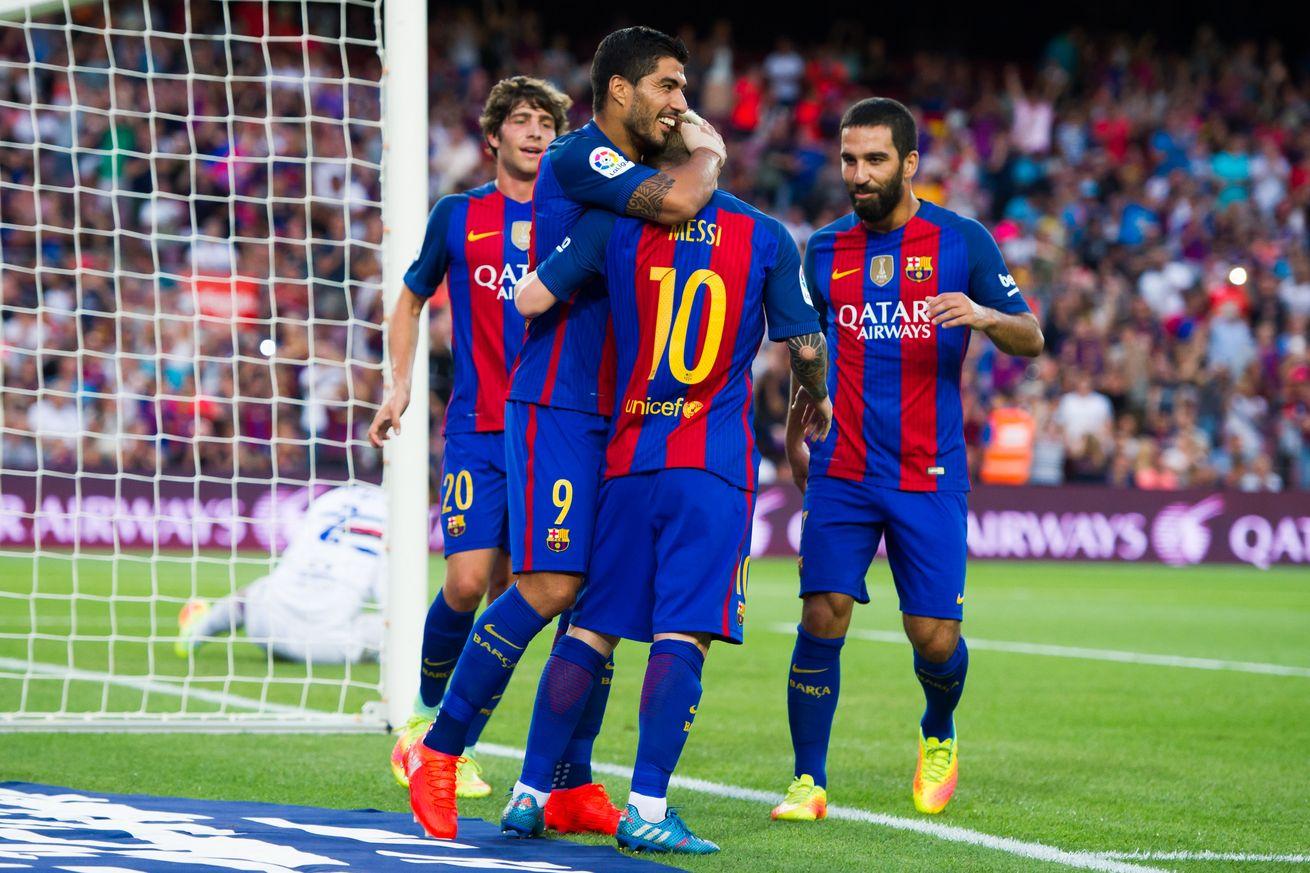 e50182e22 Piłkarze popularnej 'Barcy'. Fot.: FC Barcelona