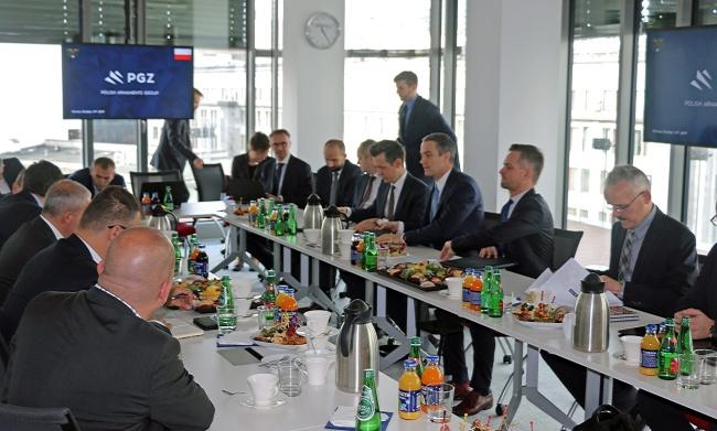 PGZ delegacja Węgry