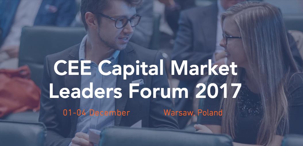 CEE Capital Market Leaders Forum