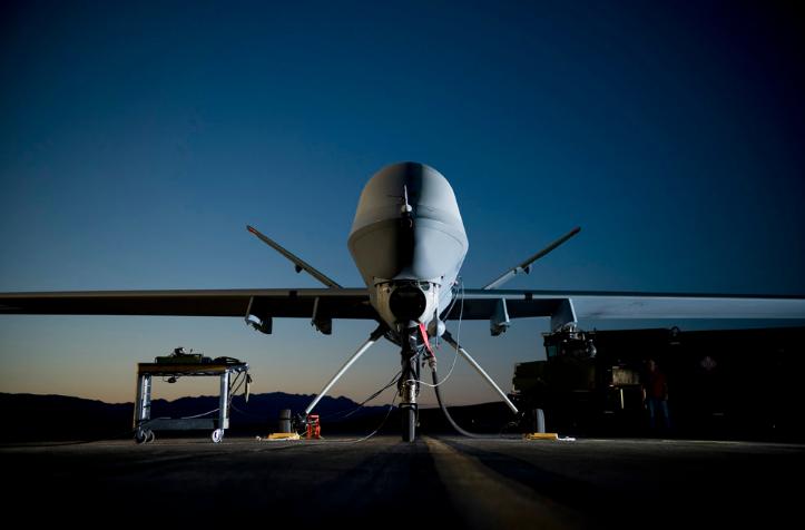 Dron USA bezpieczeństwo