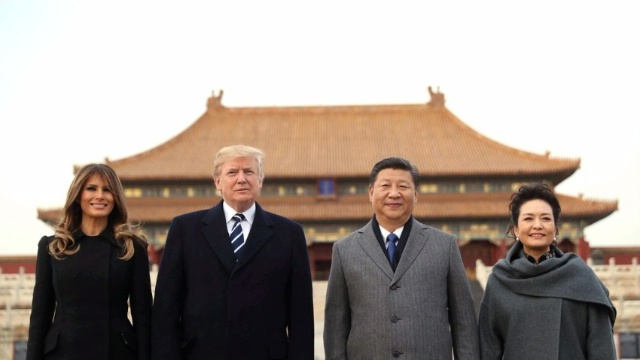 Trump Xi Pekin