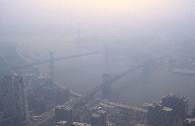 Smog Nowy Jork. Wikipedia Commons