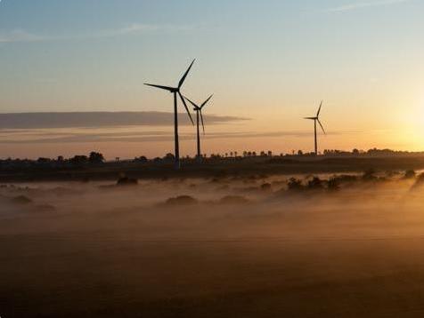 Farma wiatrowa Polenergii w Pucku