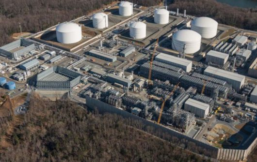Terminal LNG Cove Point. Fot. Dominion Energy