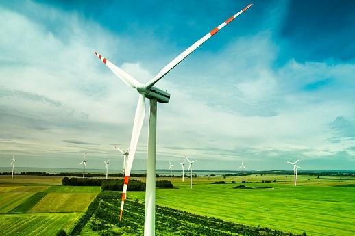 Grupa TAURON – farma wiatrowa w Zagórzu