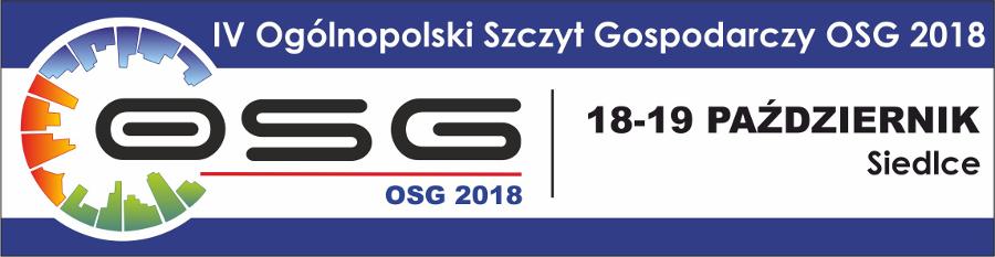Ogólnopolskiego Szczytu Gospodarczego OSG 2018