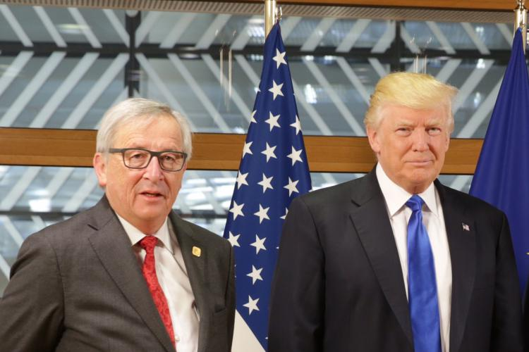 Donald Trump Jean Claude Juncker