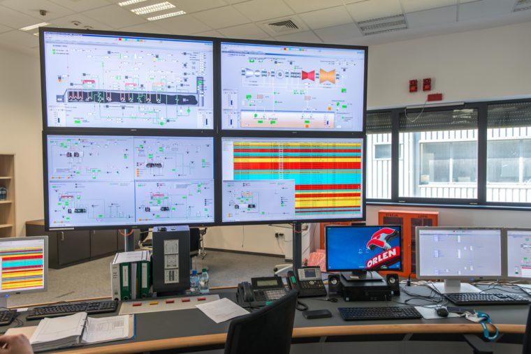 Elektrociepłownia gazowo-parowa w Płocku. Fot. PKN Orlen/Siemens