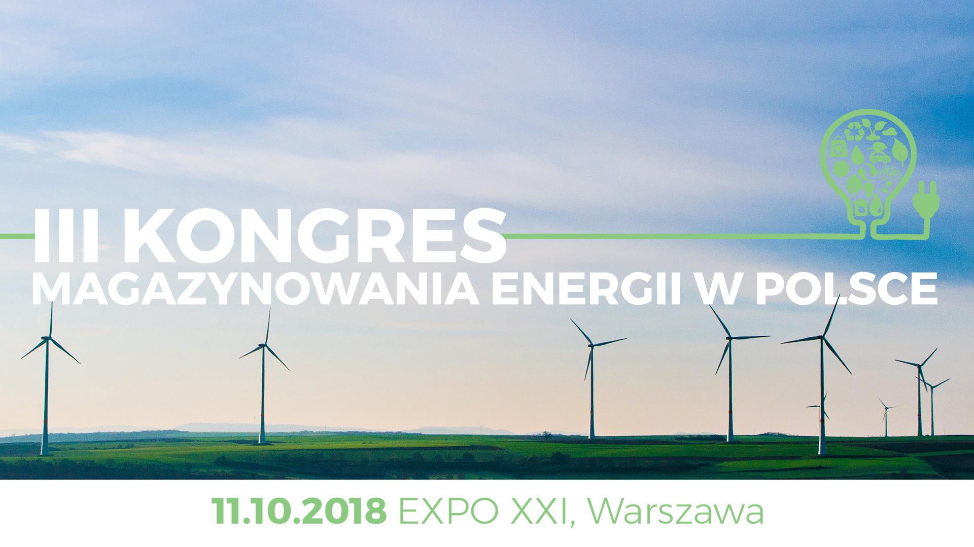 III Kongres Magazynowania Energii w Polsce