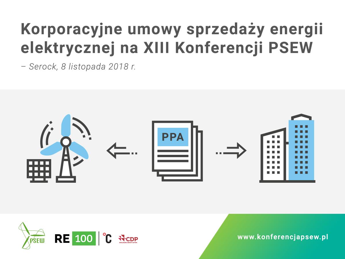 """""""Korporacyjne umowy sprzedaży energii elektrycznej"""" – już w Serocku 8 listopada 2018 r."""