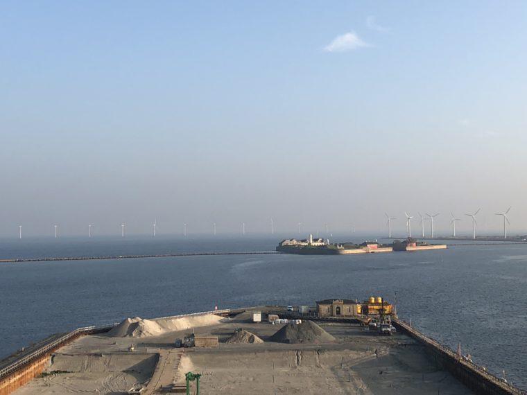 Morskie farmy wiatrowe. Nordhavn. Kopenhaga. Fot. BiznesAlert.pl