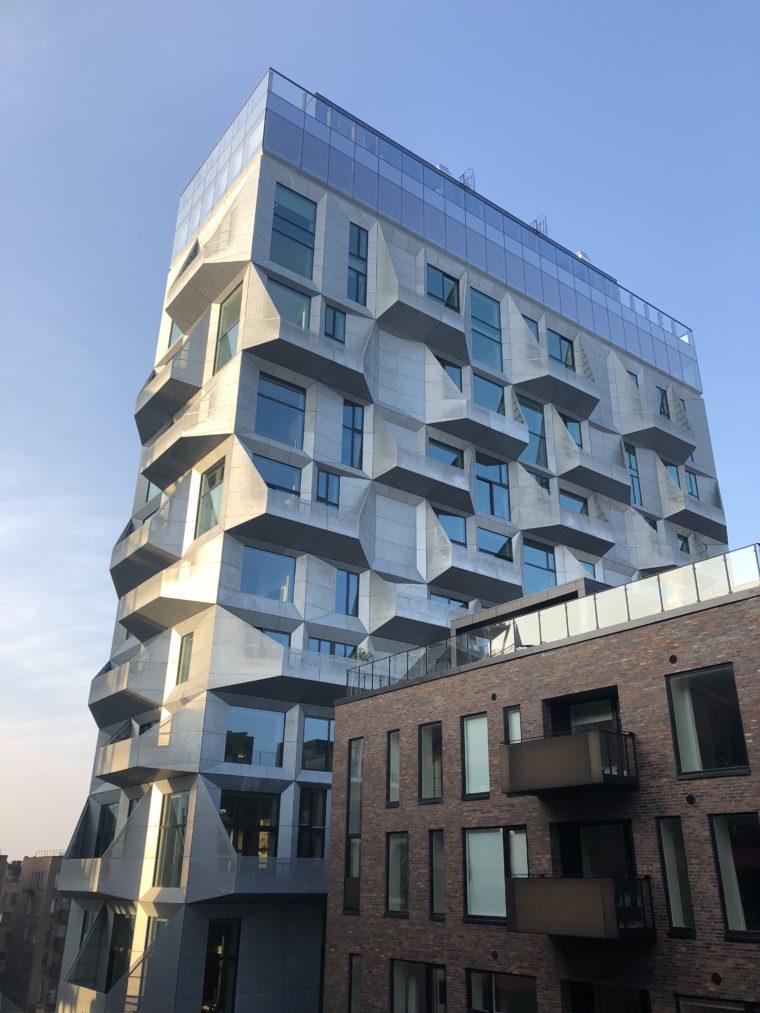Port Nordhavn. Kopenhaga. Dzielnica wciąż się buduje. Fot. BiznesAlert.pl