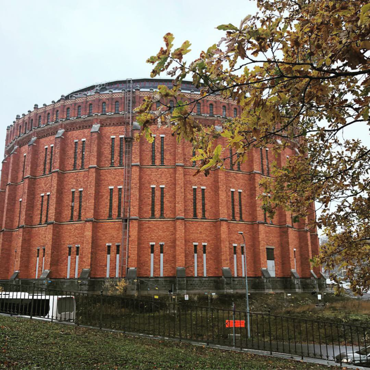 Budynek dawnej gazowni. W przyszłości budynek opery. Fot. BiznesAlert.pl