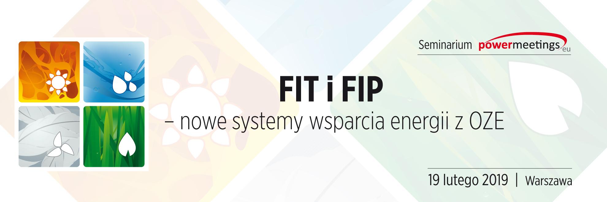 Seminarium: FIT i FIP – nowe systemy wsparcia energii z OZE