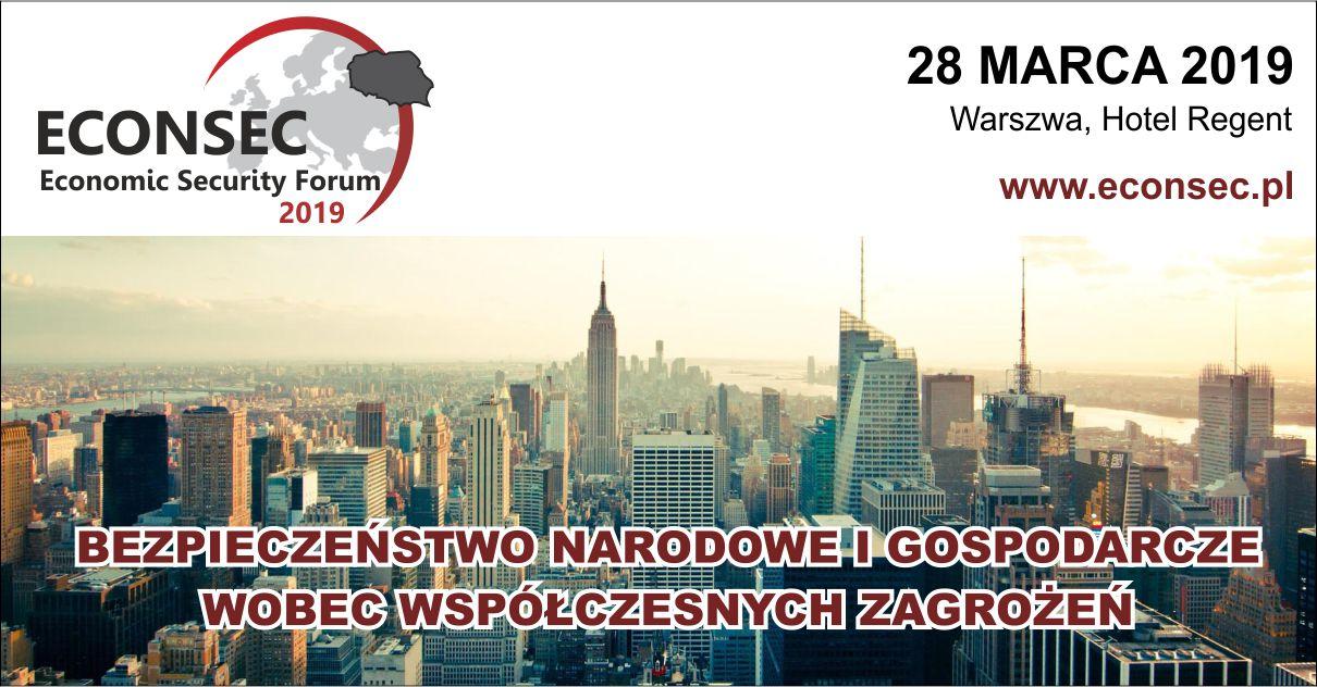 Economic Security Forum ECONSEC 2019