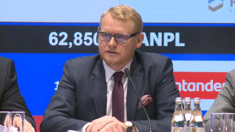 Paweł Gruza, wiceprezes KGHM Fot. BiznesAlert.pl