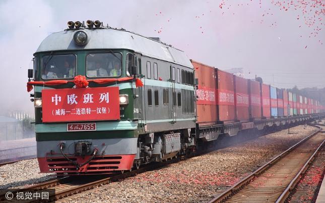 Chińska kolej. Źródło: Wikipedia