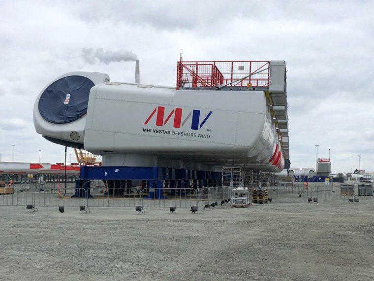 Fabryka/Port Esbjerg firmy MHI Vestas. Morskie farmy wiatrowe Fot.: BiznesAlert.pl/Bartłomiej Sawicki