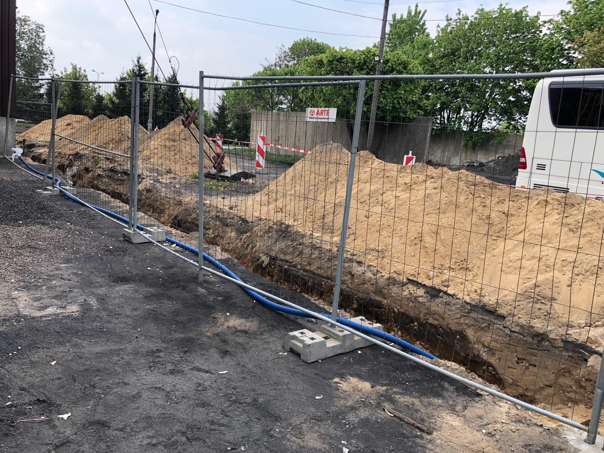 Plac budowy w Działdowie. Fot. BiznesAlert.pl