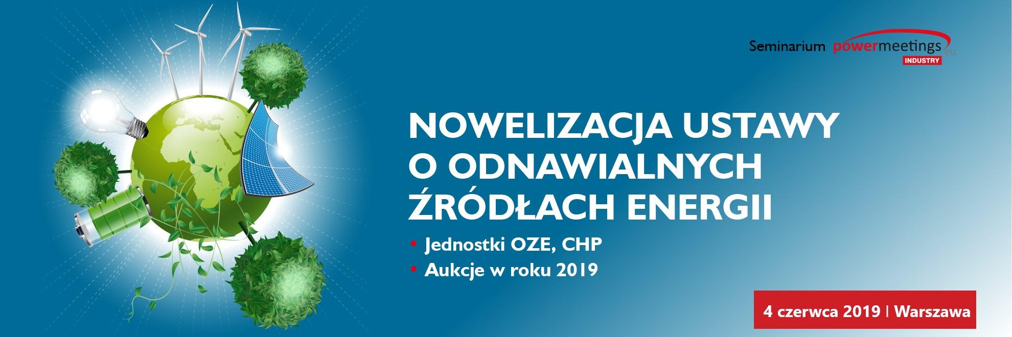 Seminarium: Nowelizacja ustawy o OZE