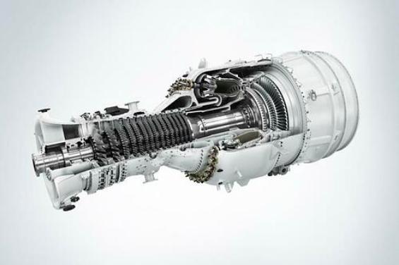 Turbina gazowa SGT-800, fot.: Mat. prasowe Siemens