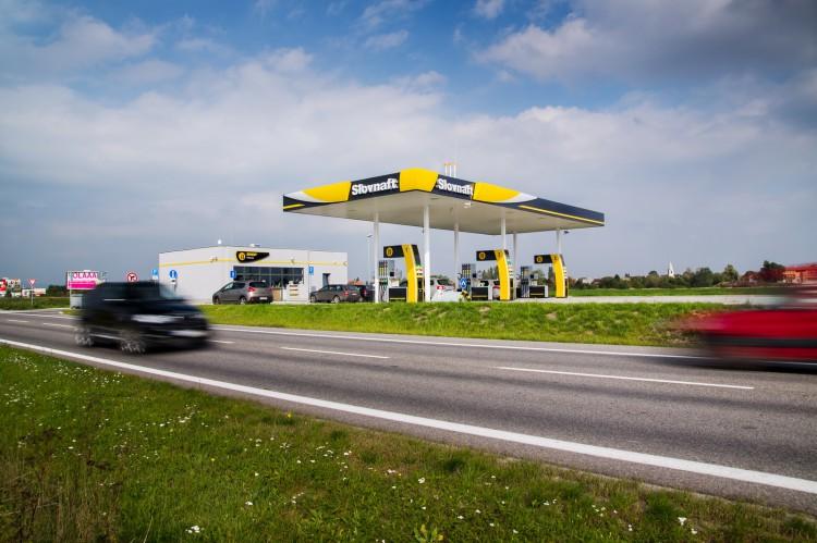Stacja benzynowa slovnaft.sk