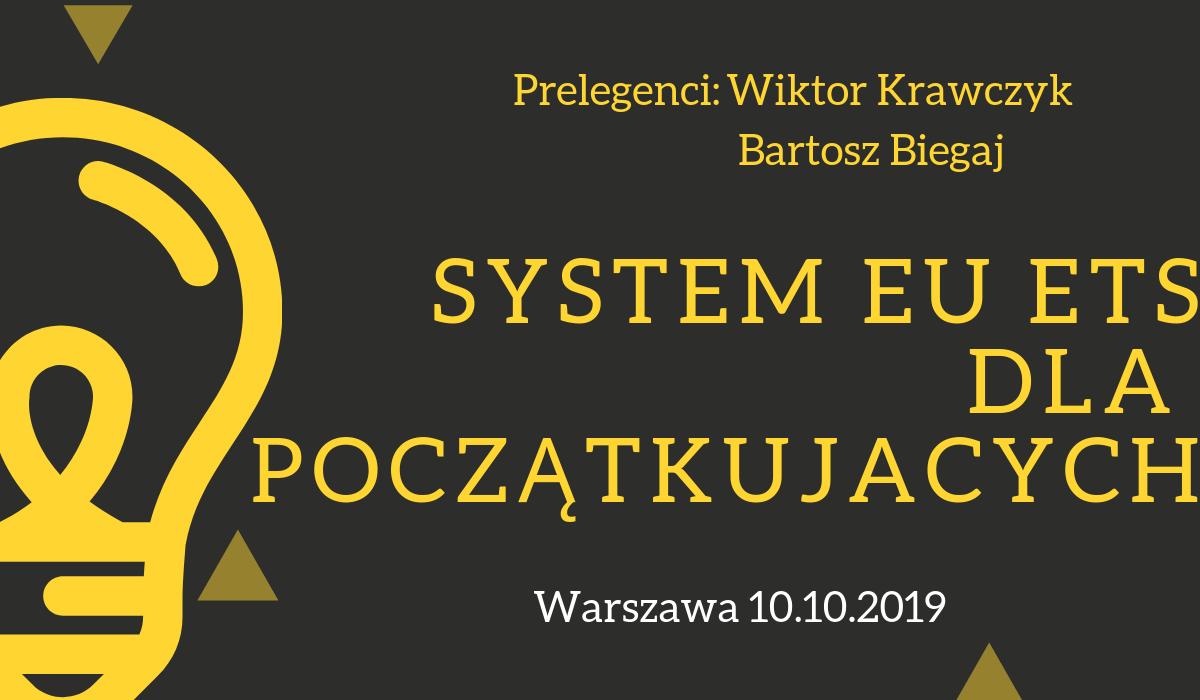 Szkolenie: System EU ETS dla początkujących