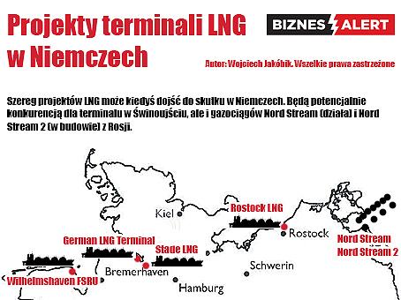 Terminale LNG w Niemczech