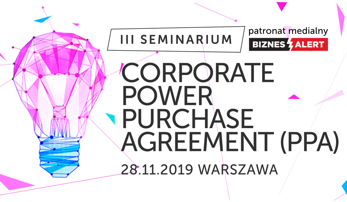 Seminarium: Corporate Power Purchase Agreement (PPA)