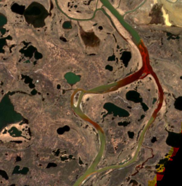 Zanieczyszczenie rzeki Ambarnaja