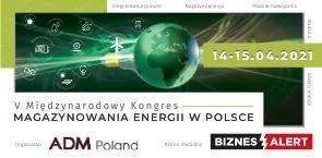 V Międzynarodowy Kongres MAGAZYNOWANIA ENERGII. Grafika organizatora.