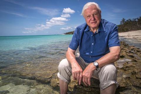 David Attenborough. Źródło Wikicommons