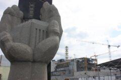 Czwarty blok elektrowni w Czarnobylu w 2015 roku fot. Mariusz Marszałkowski