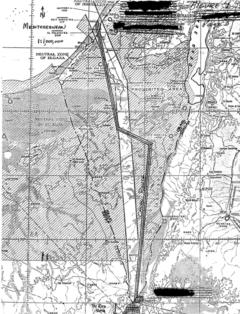 Trasa planowanego kanału przez pustynie Negew. Źródło Dep. Energii USA, Fot. Bartłomiej Sawicki/BiznesAlert.pl