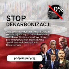 Grafika promująca petycję Polonia Christiana. Grafika: Polonia Christiana