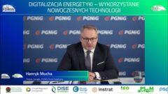 Prezes PGNiG OD Henryk Mucha podczas konferencji EuroPOWER 2021. Fot. BiznesAlert.pl