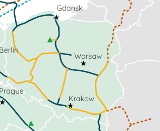 Wodorociągi w Polsce