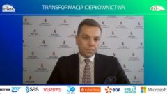 Jakub Kowalski, wiceprezes Polskiej Spółki Gazownictwa ds. operacyjnych podczas EuroPOWER 2021. Fot. PSG