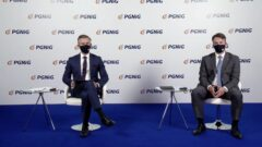 Konferencja prasowa PGNiG.