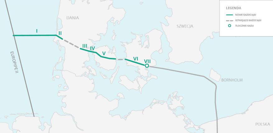 Budowa Korytarza Norweskiego w Danii. Odcinek V znajduje się we Fionii. Fot. Baltic Pipe Project