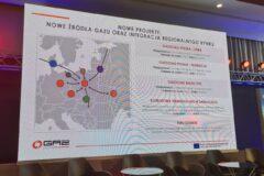 Nowe projekty Gaz-System w tym FSRU w prezentacji na konferencji Forum Ciepła i Gazu. Fot. Wojciech Jakóbik