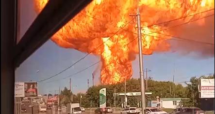 Wybuch Nowosybirsk