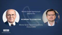 Zbigniew Rau i Dmytro Kuleba. Fot. MSZ