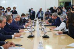 Rozmowy Kerry-Ławrow. Fot. MSZ Rosji